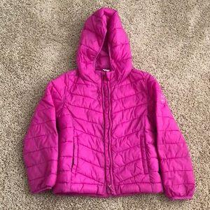 Gap Kids Pink Puffer Jacker